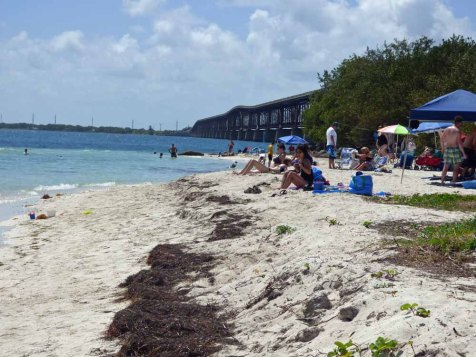 b Beach Near Bahia Honda Bridge