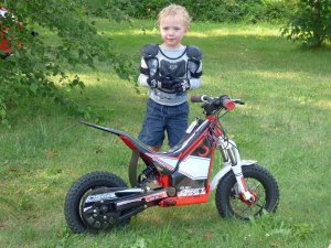 a Owen and His Motorcycle