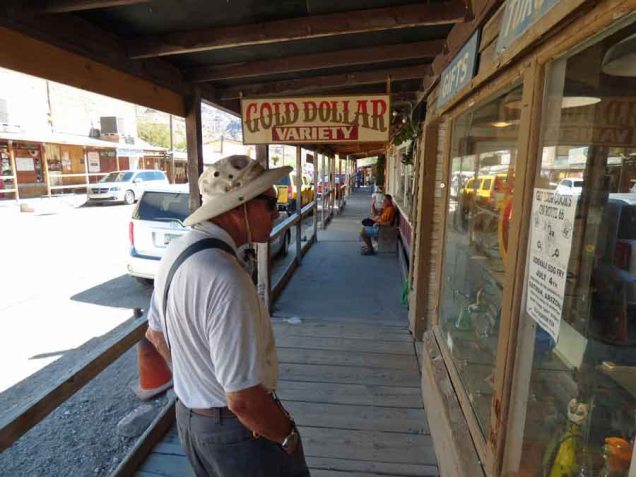 b Andy Sidewalk Oatman AZ