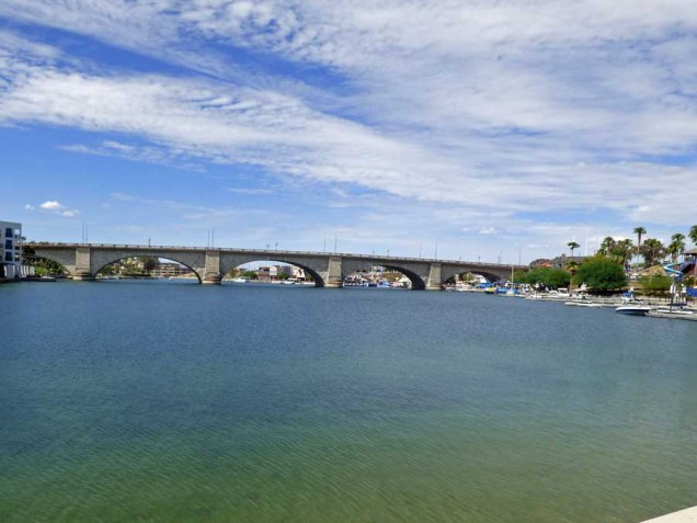 b London Bridge in Lake Havasu City AZ