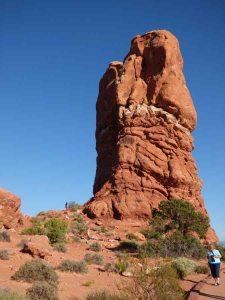 b Mushroom Rock Near Balanced Rock