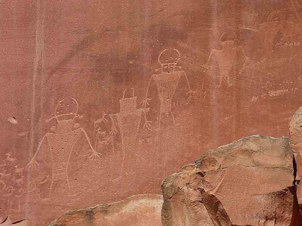 b Petroglyph People