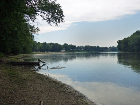 b Rock River Downstream