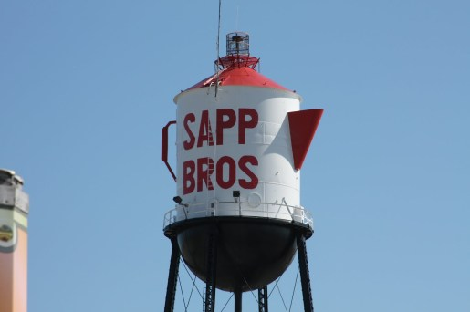 b Sapp Brothers Water Tower