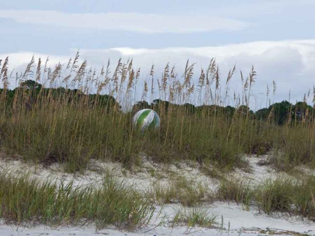 b Beach Ball on Dune