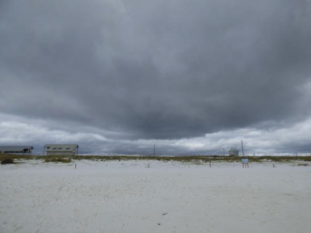 b Dark Cloud Overhead