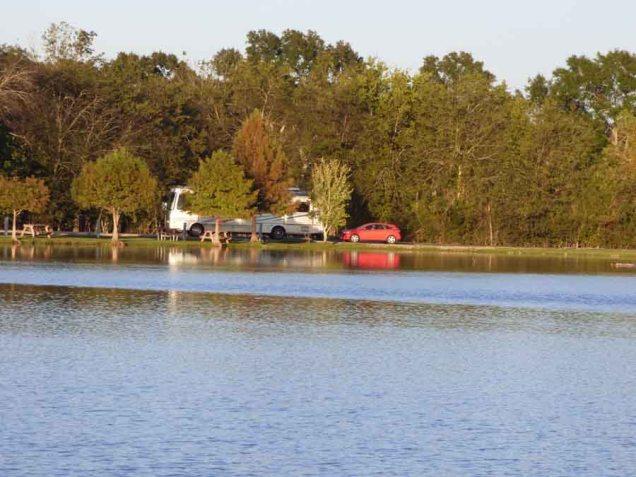 b Our Spot Across Lake