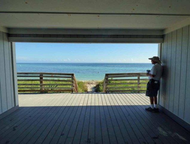 b Andy Looking at Beach