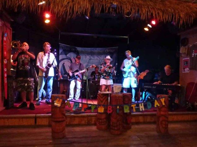 b Band at Dockside