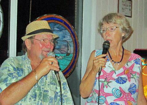 b Dinata Singing w Dave Scott