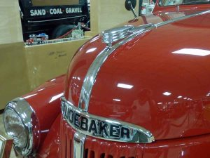b Hood Ornament Studebaker