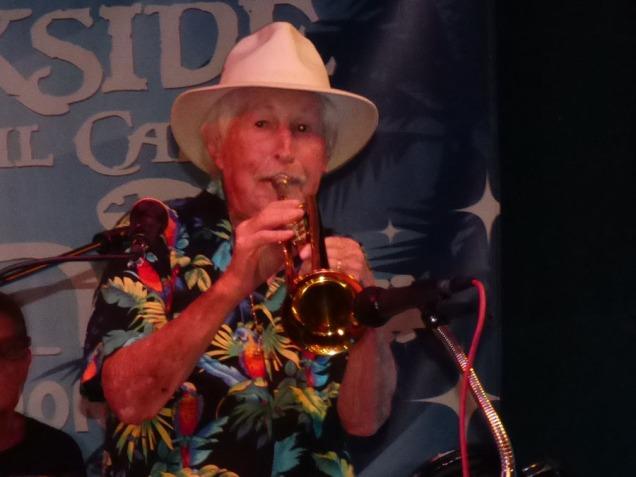 b Mickey Belin Playing Trumpet