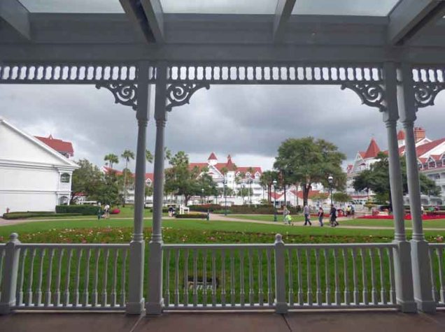 b Lunch View at Grand Floridian