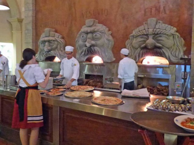 b Pizza Ovens at Italy Epcot