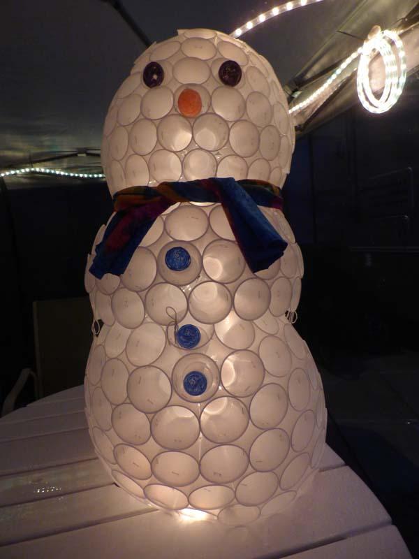 b Snowman Night