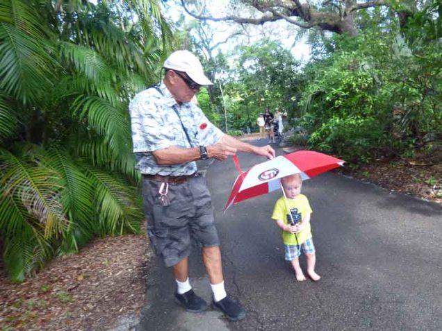 b12 Andy, Cam, and Umbrella