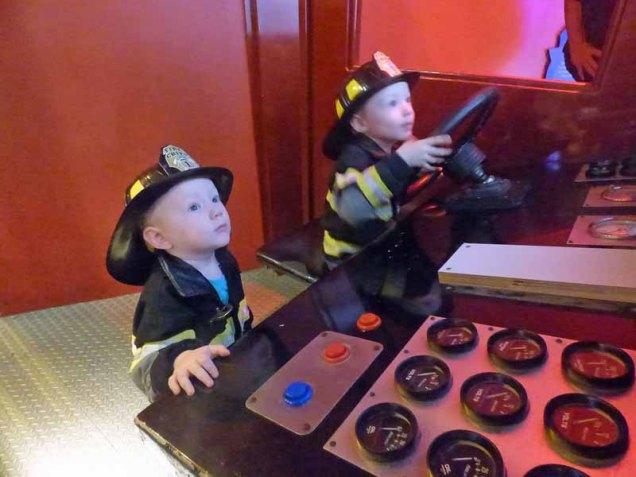 b13 Driving Firetruck