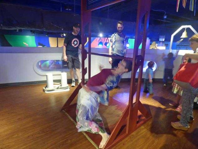 b19 Jennifer Doing Limbo