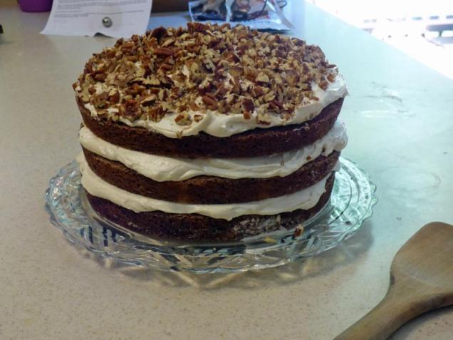 b Butterfly Cake