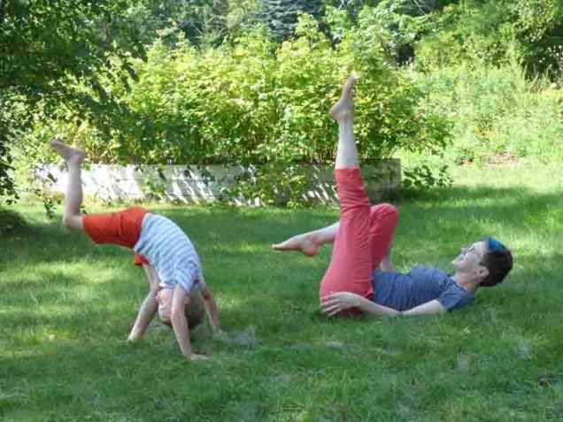 b Gymnastics