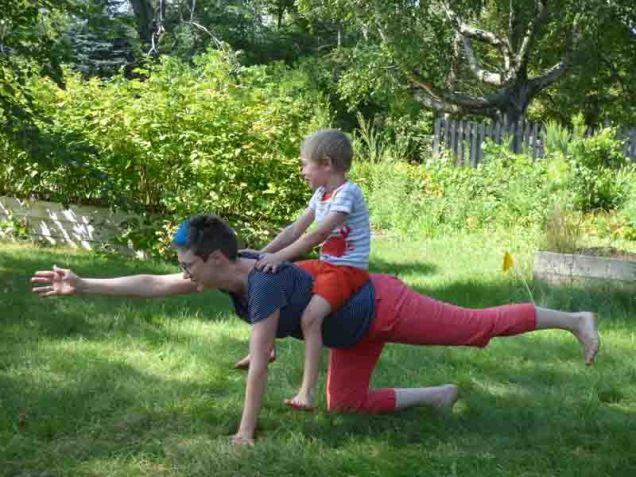 b Yoga Horse
