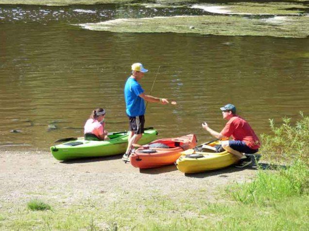 b8 Kayakers Who Just Portaged Around Dam