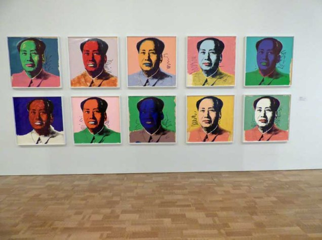 b9 Andy Warhol's Mao Tse-tung Series