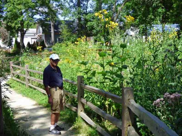 b95 Andy with Tall Flowers