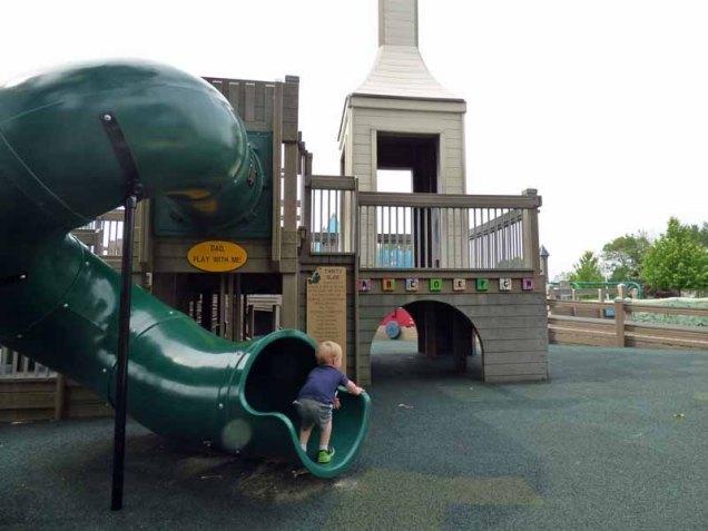 c Cam at Bottom of Slide